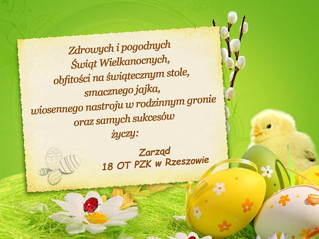 święta Wielkanocne 2018 Polski Związek Krótkofalowców Oddział